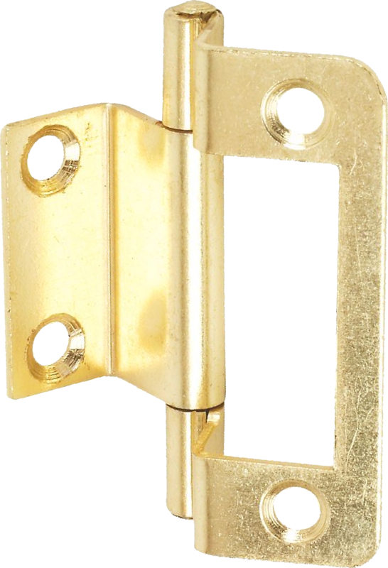 50mm double cranked flush hinge brass. Black Bedroom Furniture Sets. Home Design Ideas