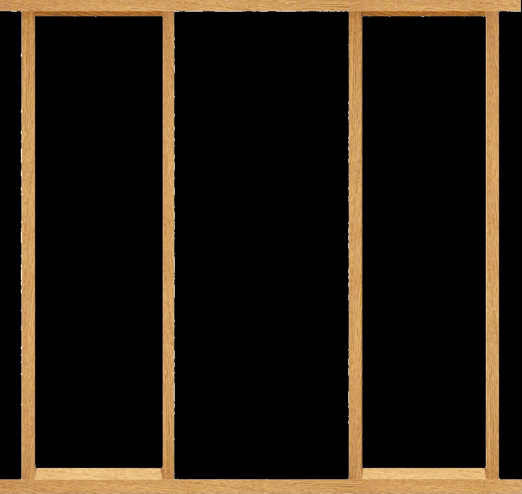 80 Inch Oak Effect Sidelight Door Frame Kit