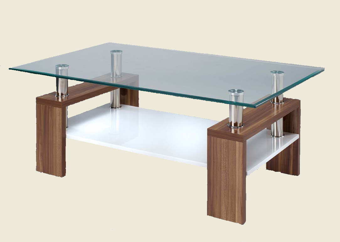 Glass coffee table elise glass coffee table geotapseo Choice Image