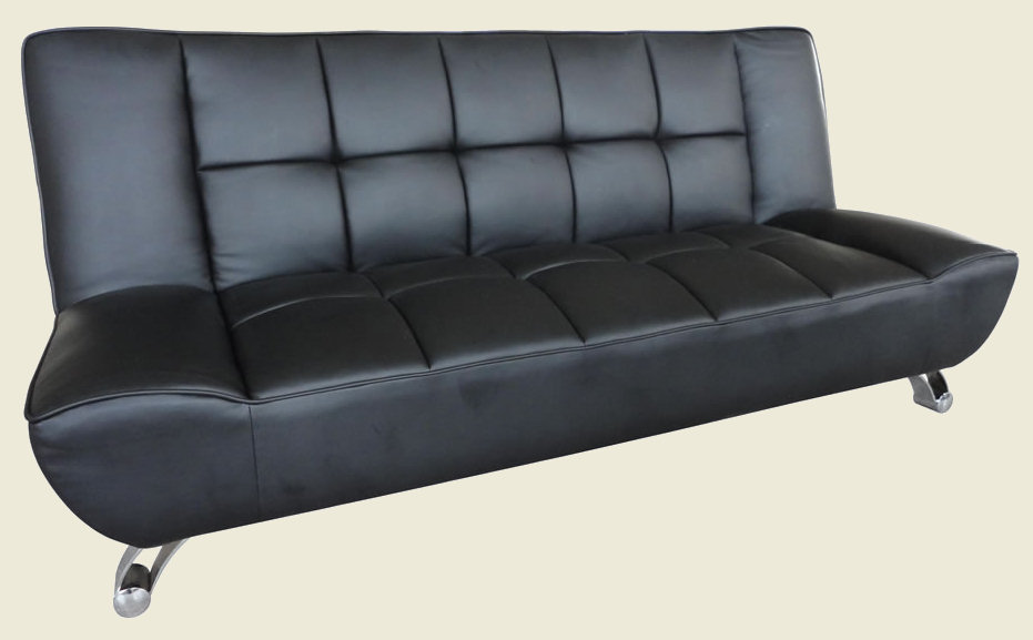 Vogue Sofa Bed Black