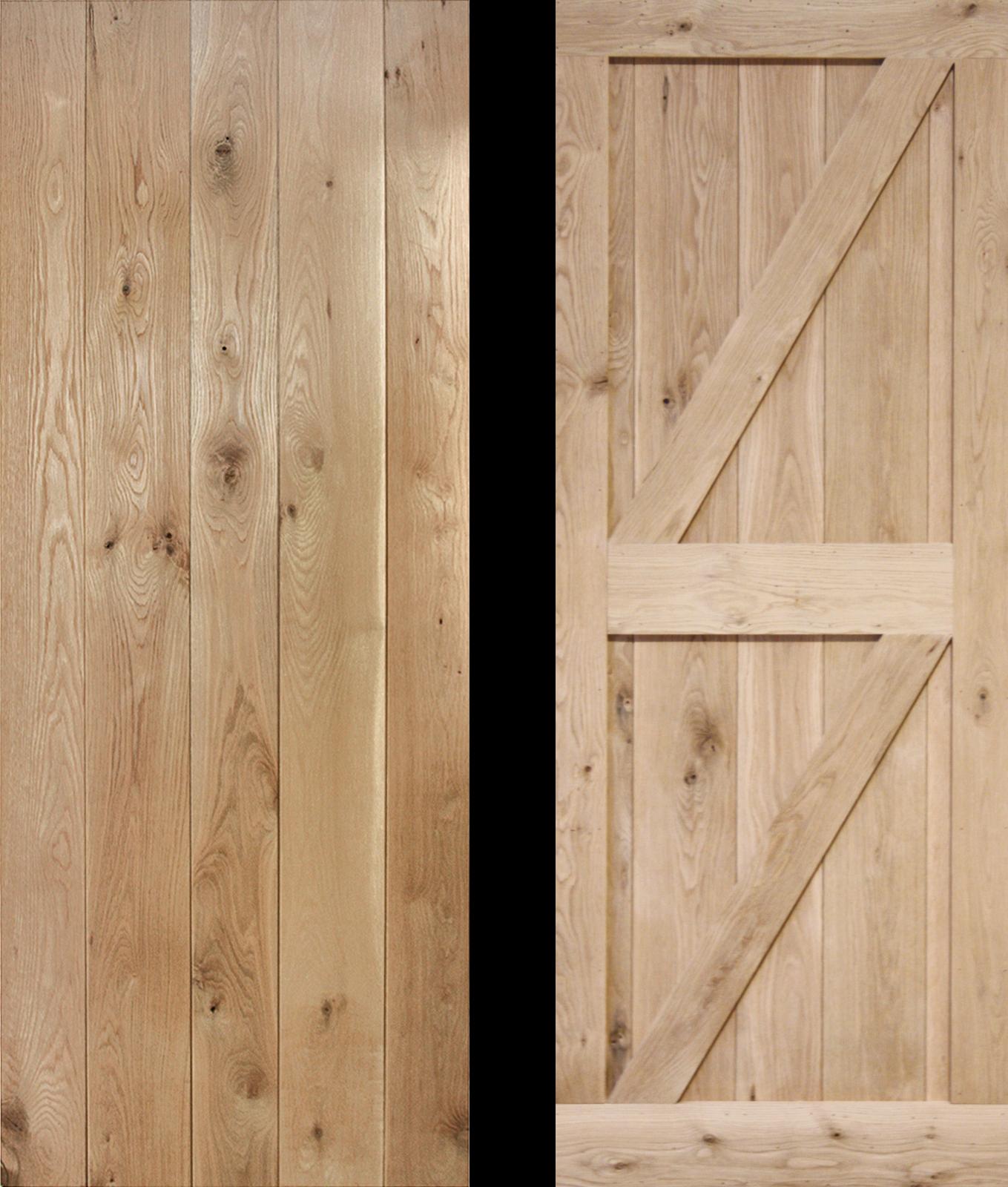 Mobile Home Cottage Door: 30 X 78 Frame Ledged Braced Solid Oak Cottage Door