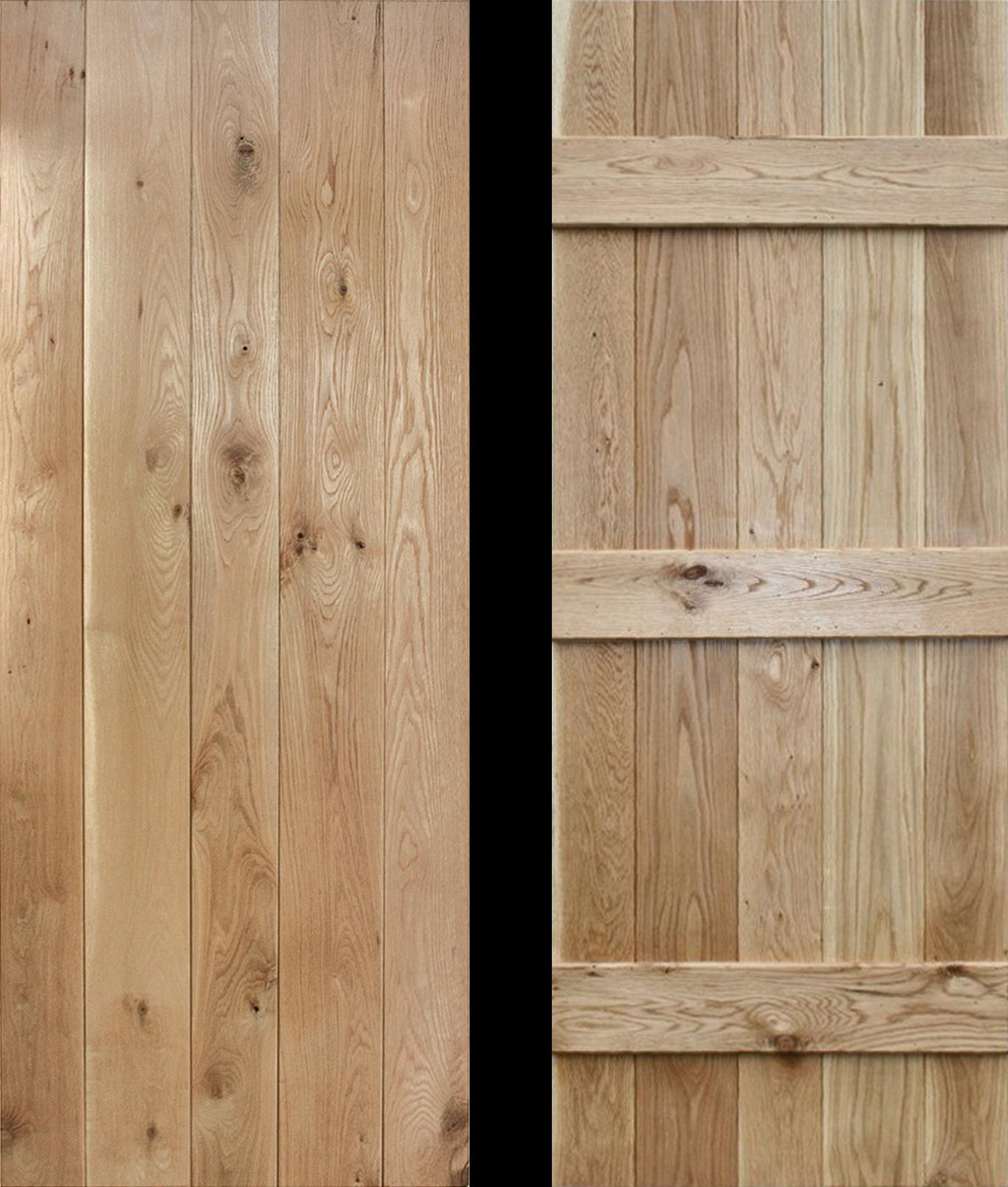 Mobile Home Cottage Door: 24 X 78 Ledged Solid Oak Cottage Door