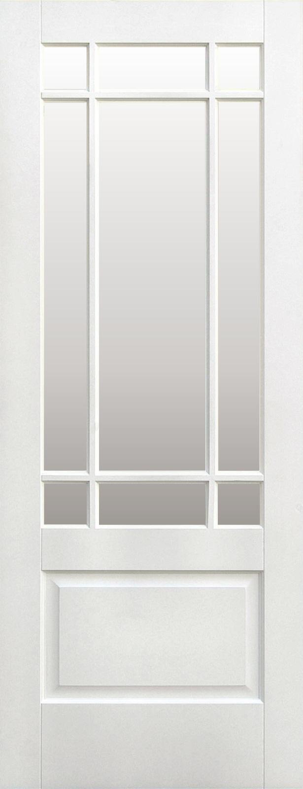 Diy store builders merchant worktops doors bedrooms furniture downham doors clear bevelled glass white primedg rubansaba