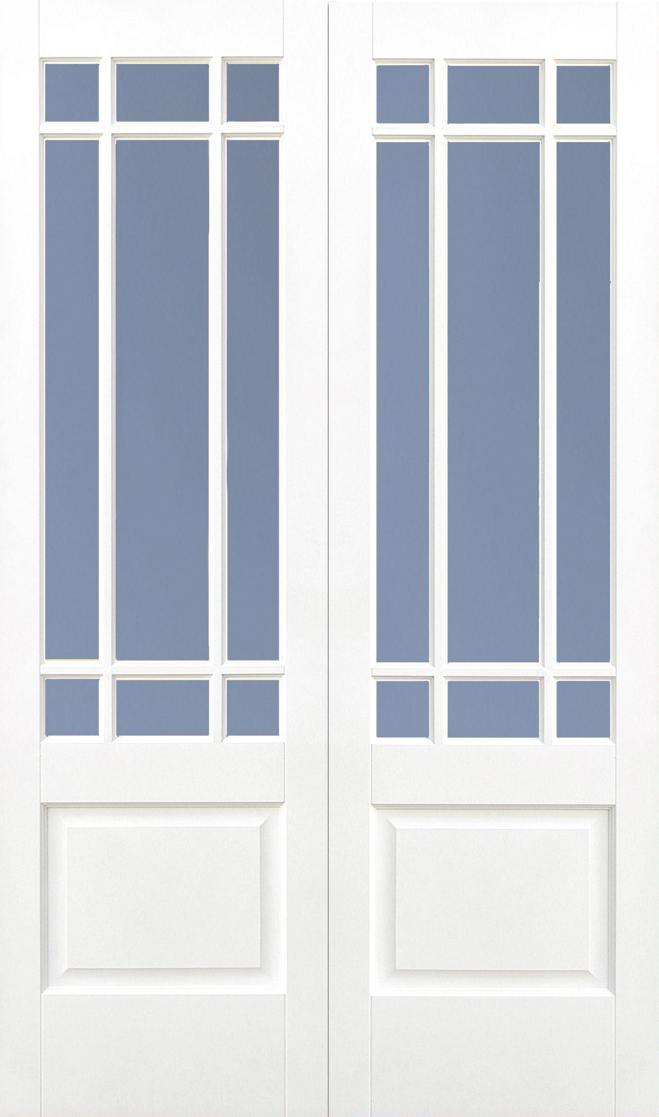 46 x 78 Downham Glazed Double Doors : LPD solid primed downham 9 light glazed double doors from www.topclasscarpentry.com size 1317 x 2230 jpeg 225kB
