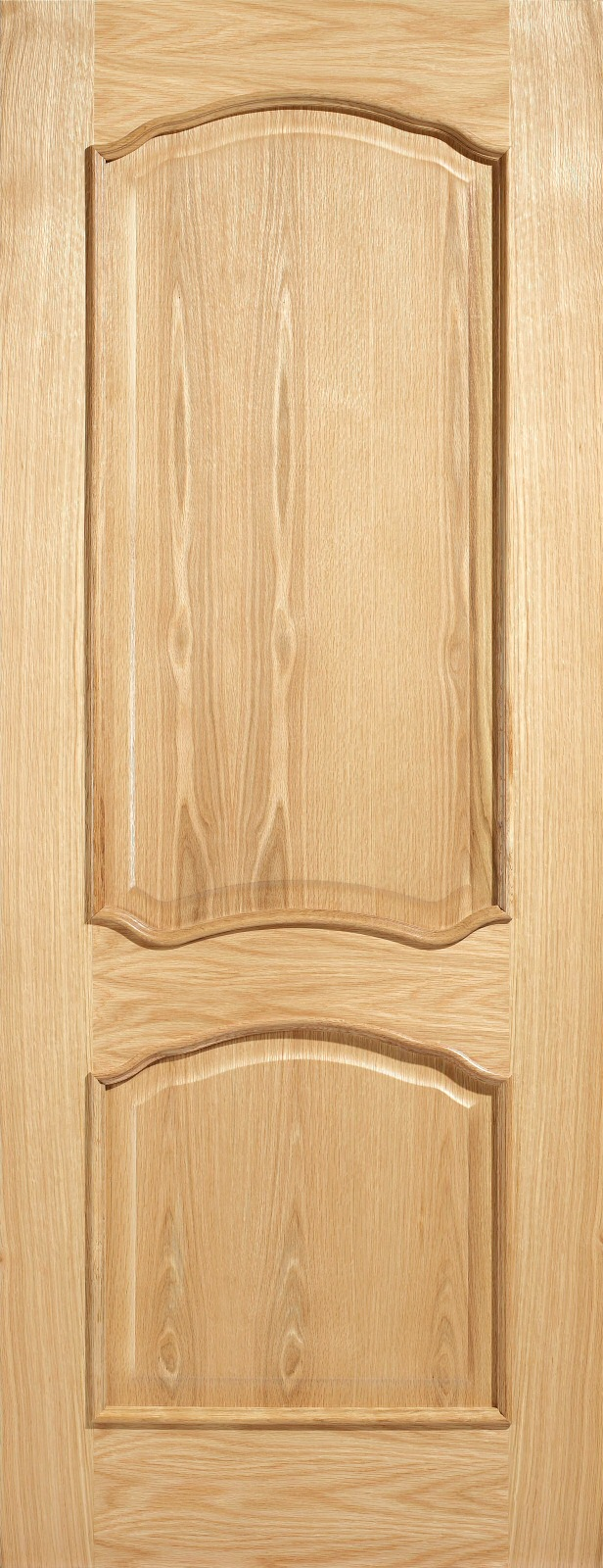 826 x 2040 Pre-Finished Louis Oak Two Panel Bolection Moulding Door