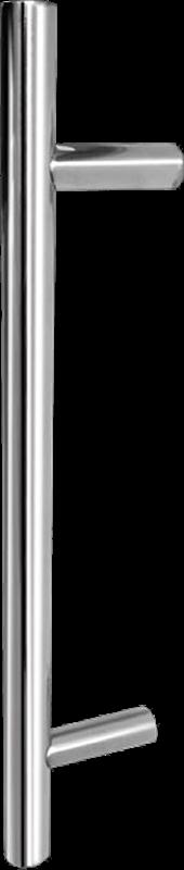 1m Guardsman Brushed Stainless Steel T Bar Door Handle