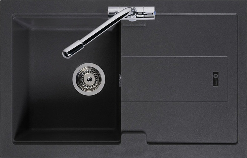 Graphite Kitchen Sinks : Click an image to enlarge .