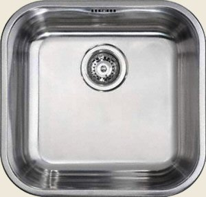 Square Sink Bowl : Click an image to enlarge .