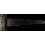 254mm Tee Hinge Black Japanned Heavy Duty