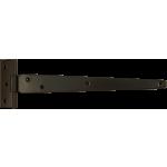 254mm Tee Hinge Black Japanned Light Duty