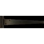 305mm Tee Hinge Black Japanned Light Duty