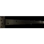 356mm Tee Hinge Black Japanned Heavy Duty