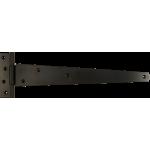 356mm Tee Hinge Black Japanned Medium Duty