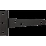102mm Tee Hinge Black Japanned Light Duty