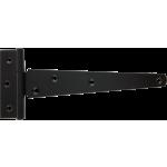 152mm Tee Hinge Black Japanned Light Duty