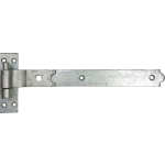 356mm Galvanised Cranked Band And Gudgeon Hook Hinge