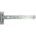 356mm Galvanised Gudgeon Hook And Band Strap Hinge