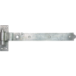 457mm Galvanised Cranked Band And Gudgeon Hook Hinge