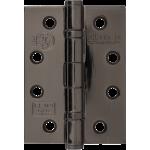 102mm CE13 Polished Black Nickel Stainless Steel Ball Bearing Hinge