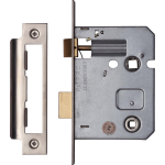 76mm Bathroom Sash Lock Satin Nickel