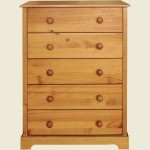 LPD Baltic Pine 5 Drawer Chest