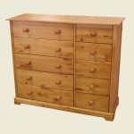 LPD Baltic Pine 5 Plus 5 Drawer Chest