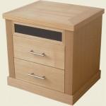 Mayfair 2 Drawer Bedside Cabinet