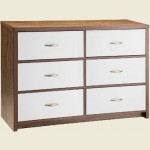 LPD Milan 6 Drawer Dresser