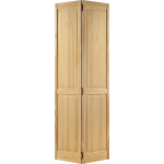 30 x 78 4-Panel Clear Pine Space Saver Bi-Fold Door