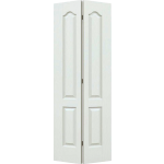 30 x 78 4 Panel Arch Top Textured Bi-Fold Door