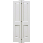 24 x 78 Textured 4-Panel Bi-Fold Door