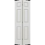 24 x 78 Textured 6-Panel Bi-Fold Door