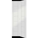 30 x 78 White Primed Palermo Bi-Fold Door