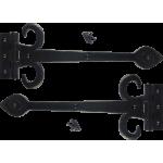 Black Antique Decorative Hinges
