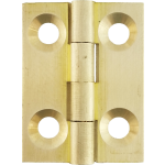 25mm Butt Hinge Natural Brass
