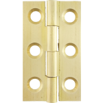 38mm Butt Hinge Natural Brass