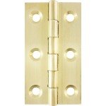 51mm Butt Hinge Natural Brass
