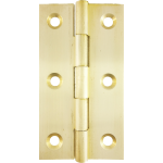63mm Butt Hinge Natural Brass