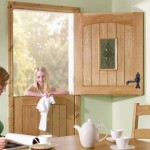 One Light Adorable Oak Stable Doors