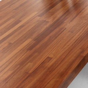 40mm Iroko Solid Work Surfaces by Tuscan