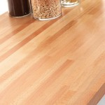 40mm Prime Beech Solid Work Surfaces by Tuscan