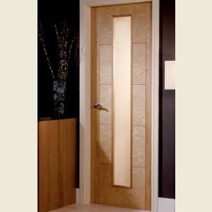 Five Panel V Grooved Glazed Doors