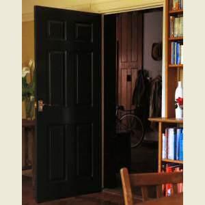 Six Panel Grained Doors