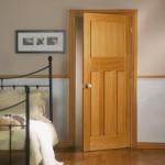 DX 30s Style White Oak Doors