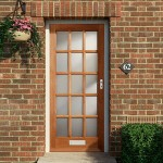 External Fifteen Light Hardwood Doors