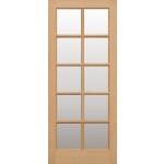 Interior Hemlock SC Ten Light Doors