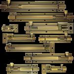 Antique Brass Barrel Bolts