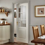 Arched Grained Six Light Glazed Doors