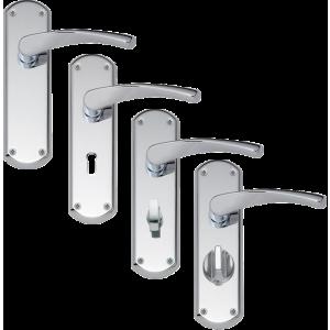 Chrome Door Handles >> Garda Chrome Door Handles