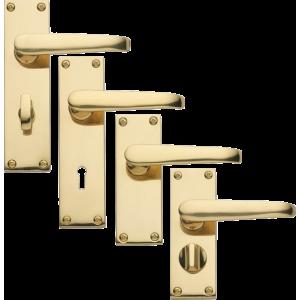 Victorian Brass Handles